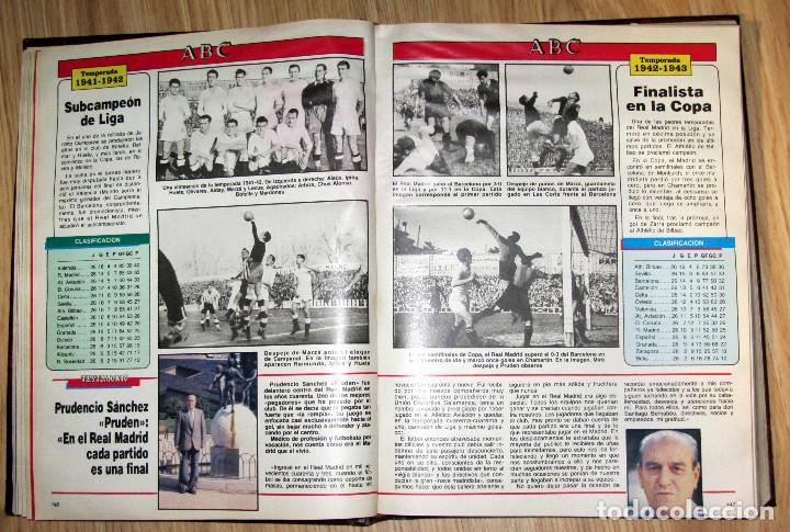 Coleccionismo deportivo: ABC HISTORIA VIVA DEL REAL MADRID TOMO FASCICULOS ENCUADERNADOS ABC 520 PÁGINAS - Foto 3 - 104235699