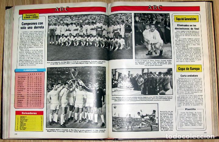 Coleccionismo deportivo: ABC HISTORIA VIVA DEL REAL MADRID TOMO FASCICULOS ENCUADERNADOS ABC 520 PÁGINAS - Foto 4 - 104235699