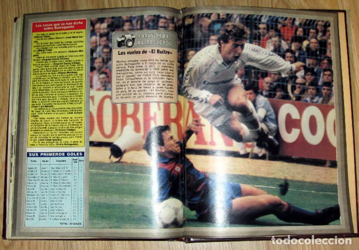 Coleccionismo deportivo: ABC HISTORIA VIVA DEL REAL MADRID TOMO FASCICULOS ENCUADERNADOS ABC 520 PÁGINAS - Foto 5 - 104235699