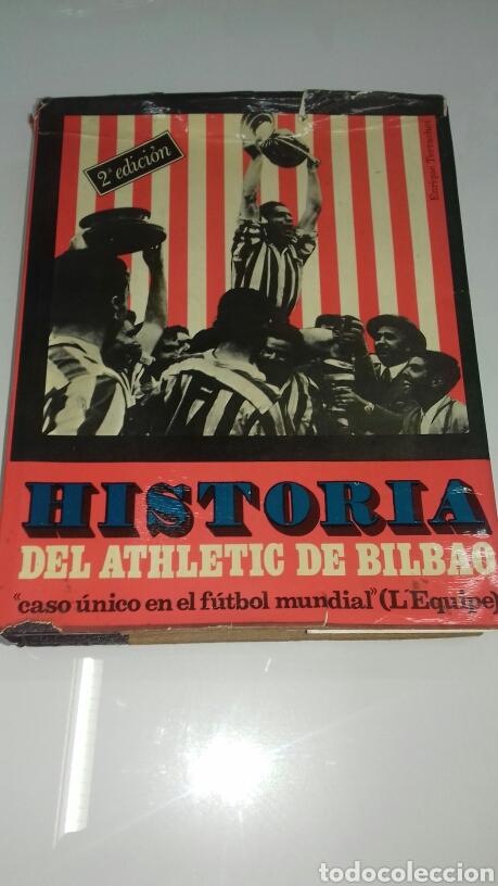 HISTORIA DEL ATHLETIC CLUB DE BILBAO 1969 GRAN ENCICLOPEDIA VASCA DISCO HIMNOS INCLUIDO RETAMA ED. (Coleccionismo Deportivo - Libros de Fútbol)