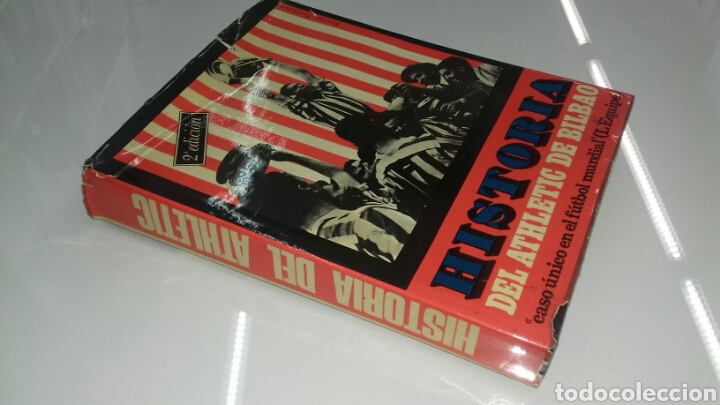 Coleccionismo deportivo: HISTORIA DEL ATHLETIC CLUB DE BILBAO 1969 GRAN ENCICLOPEDIA VASCA DISCO HIMNOS INCLUIDO RETAMA ED. - Foto 2 - 104302014