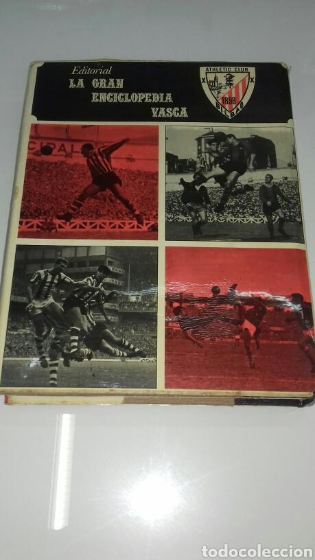 Coleccionismo deportivo: HISTORIA DEL ATHLETIC CLUB DE BILBAO 1969 GRAN ENCICLOPEDIA VASCA DISCO HIMNOS INCLUIDO RETAMA ED. - Foto 3 - 104302014