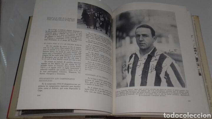 Coleccionismo deportivo: HISTORIA DEL ATHLETIC CLUB DE BILBAO 1969 GRAN ENCICLOPEDIA VASCA DISCO HIMNOS INCLUIDO RETAMA ED. - Foto 5 - 104302014