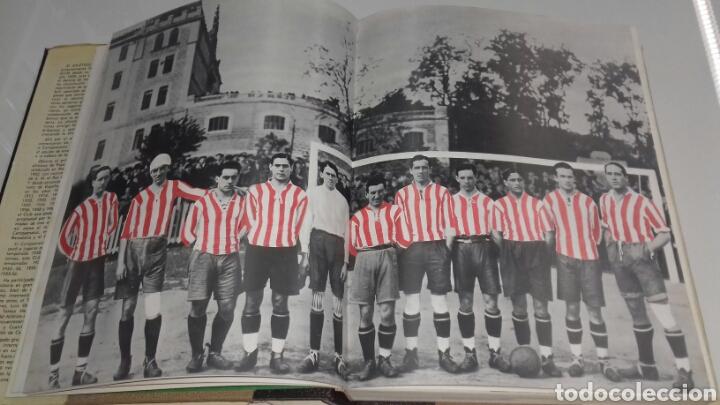 Coleccionismo deportivo: HISTORIA DEL ATHLETIC CLUB DE BILBAO 1969 GRAN ENCICLOPEDIA VASCA DISCO HIMNOS INCLUIDO RETAMA ED. - Foto 7 - 104302014