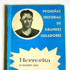 Coleccionismo deportivo: HERRERITA - EL NUMERO 1 - RICARDO VAZQUEZ PRADA. Lote 104486587