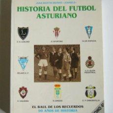 Coleccionismo deportivo: HISTORIA DEL FUTBOL ASTURIANO - TOMO 4 - JUAN MARTIN MERINO, JUANELE. Lote 104488051