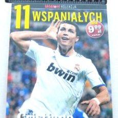 Coleccionismo deportivo: LIBRO BOOK CRISTIANO RONALDO REAL MADRID MANCHESTER UNITED PORTUGAL EN POLACO. Lote 104686063