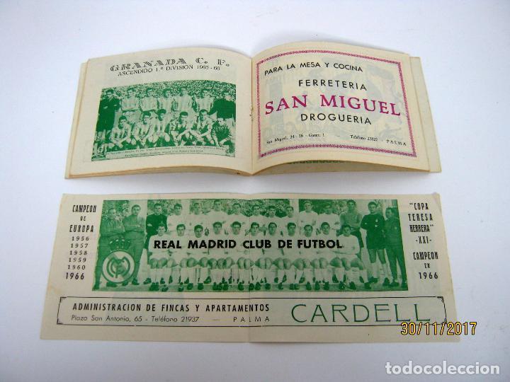 RARO! INDICE DEPORTIVO 1966 / 67 EQUIPOS DE FUTBOL ESPAÑA LIGA 1ª Y 2ª DIVISION COPAS CAMPEONATOS (Coleccionismo Deportivo - Libros de Fútbol)