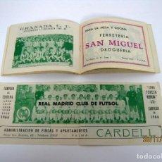 Coleccionismo deportivo: RARO! INDICE DEPORTIVO 1966 / 67 EQUIPOS DE FUTBOL ESPAÑA LIGA 1ª Y 2ª DIVISION COPAS CAMPEONATOS. Lote 104901019