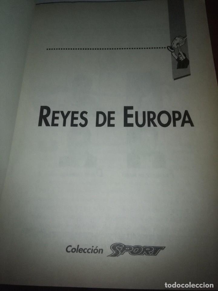 Coleccionismo deportivo: LIBRO. REYES DE EUROPA. COLECCIÓN SPORT. F.C. BARCELONA. EST24B6 - Foto 2 - 105704003