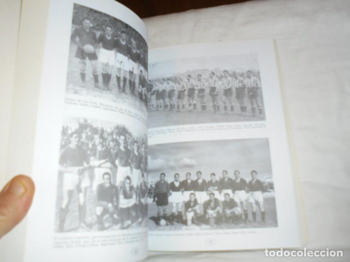 Coleccionismo deportivo: ANTONIO SANCHEZ VALDES ANTON.UN COLOSO DEL FUTBOL ESPAÑOL.JUAN MARTIN MERINO JUANELE.1993 - Foto 4 - 106533607