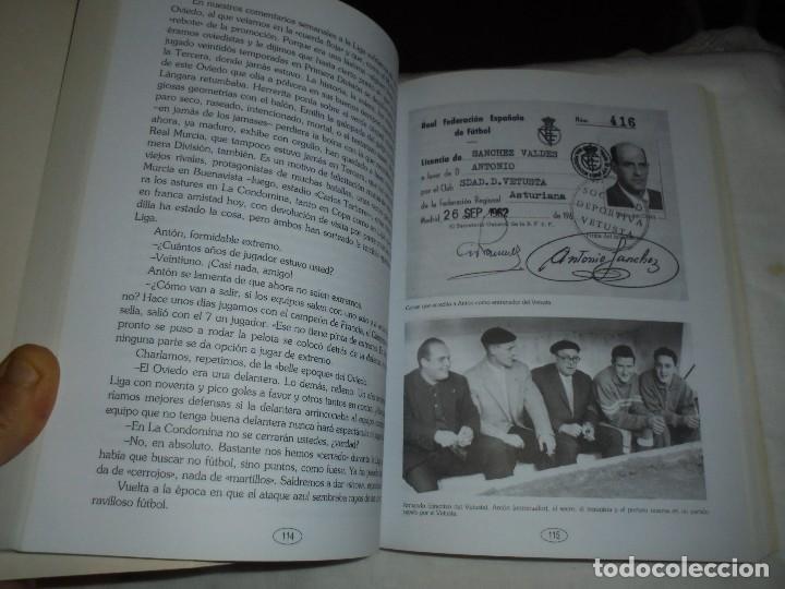 Coleccionismo deportivo: ANTONIO SANCHEZ VALDES ANTON.UN COLOSO DEL FUTBOL ESPAÑOL.JUAN MARTIN MERINO JUANELE.1993 - Foto 5 - 106533607