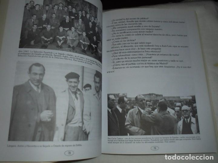 Coleccionismo deportivo: ANTONIO SANCHEZ VALDES ANTON.UN COLOSO DEL FUTBOL ESPAÑOL.JUAN MARTIN MERINO JUANELE.1993 - Foto 6 - 106533607