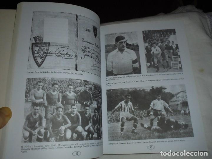 Coleccionismo deportivo: ANTONIO SANCHEZ VALDES ANTON.UN COLOSO DEL FUTBOL ESPAÑOL.JUAN MARTIN MERINO JUANELE.1993 - Foto 7 - 106533607