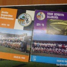 Coleccionismo deportivo: LIBROS UNIÓN DEPORTIVA SALAMANCA, FÚTBOL DESDE 1974 Y 1975 + 1975 Y 1976 + POSTER - CARLOS GIL PEREZ. Lote 106711895