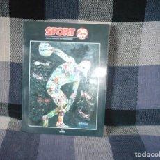 Coleccionismo deportivo: SPORT.EDICIÓN ESPECIAL XXV ANIVERSARIO. Lote 107085411