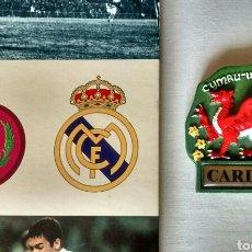 Coleccionismo deportivo: HISTORIA GRÁFICA DEL REAL MADRID + IMAN DE CARDIFF. Lote 107157892