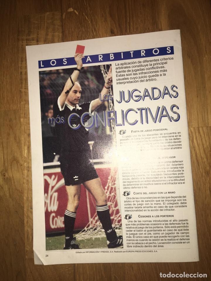 Coleccionismo deportivo: Fascículo diario 16 el gran libro de la liga 93 94 - Foto 2 - 107468930