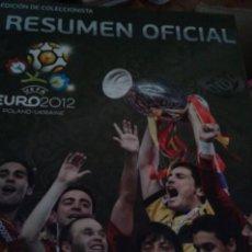 Coleccionismo deportivo: EDICIÓN COLECCIONISTA EUROCOPA 2012. Lote 107636615