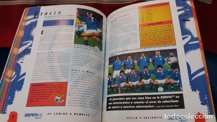 Coleccionismo deportivo: LIBRO OFICIAL UEFA EURO 96 EUROCOPA ENGLAND INGLATERRA KEIR RADNEDGE - Foto 3 - 108237311