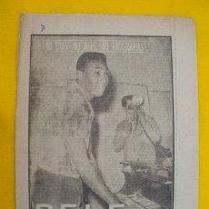 Coleccionismo deportivo: PELE - EL NEGRITO DE OURO - FÚTBOL. 1963. Lote 108237723
