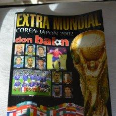 Coleccionismo deportivo: DON BALON EXTRA MUNDIAL 2002. Lote 108806467