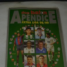 Coleccionismo deportivo: DON BALON APENDICE EXTRA LIGA 98-99. Lote 108815791