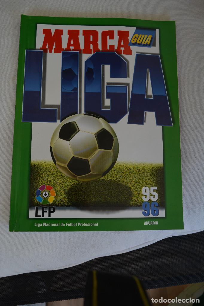 GUIA MARCA LIGA 95-96 (Coleccionismo Deportivo - Libros de Fútbol)