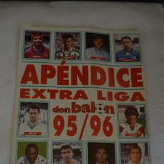 Coleccionismo deportivo: DON BALON APENDICE EXTRA LIGA 95-96. Lote 108835599