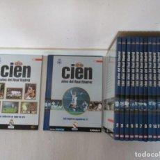 Coleccionismo deportivo: VV.AA. CIEN AÑOS DEL REAL MADRID. DIECISEIS TOMOS + ALBUM SELLOS. RMT85312. . Lote 109068731