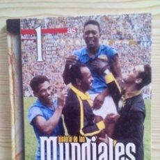 Coleccionismo deportivo: 4 LIBROS HISTORIA DE LOS MUNDIALES DE FUTBOL - AS - COMPLETA. Lote 109505631