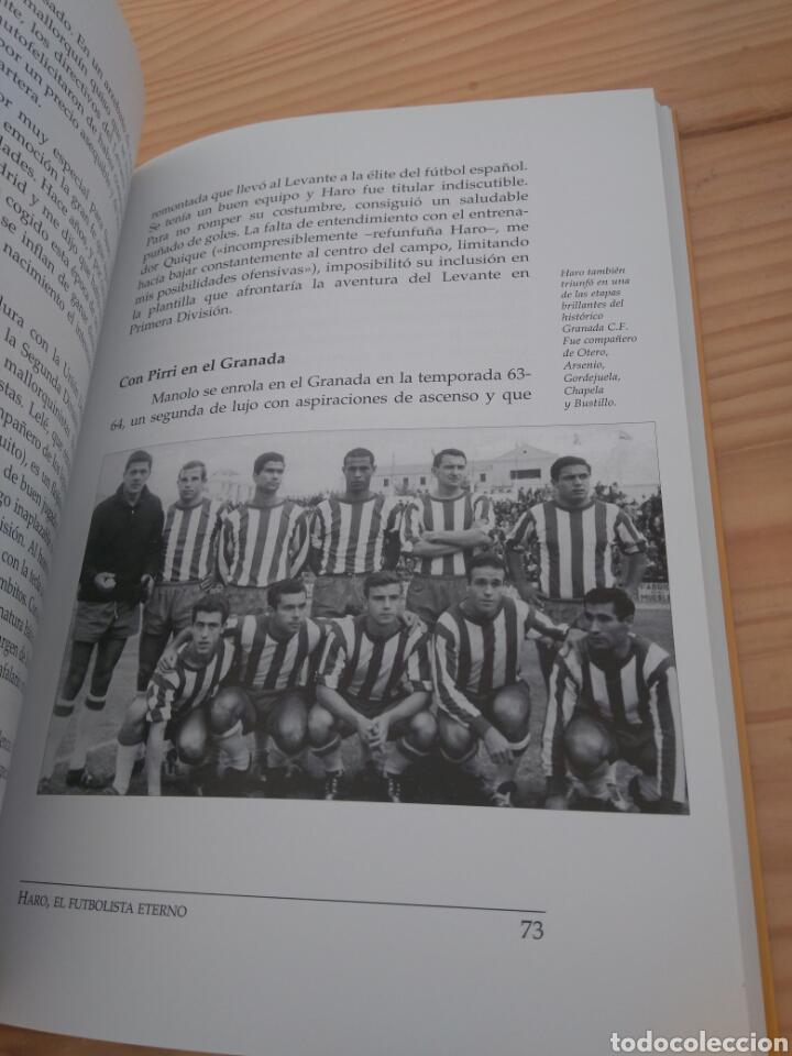 Coleccionismo deportivo: Haro, el futbolista eterno. Fernando Arévalo Ruiviejo. Sevilla FC, Mallorca, Jaén, Granada... - Foto 2 - 110084252
