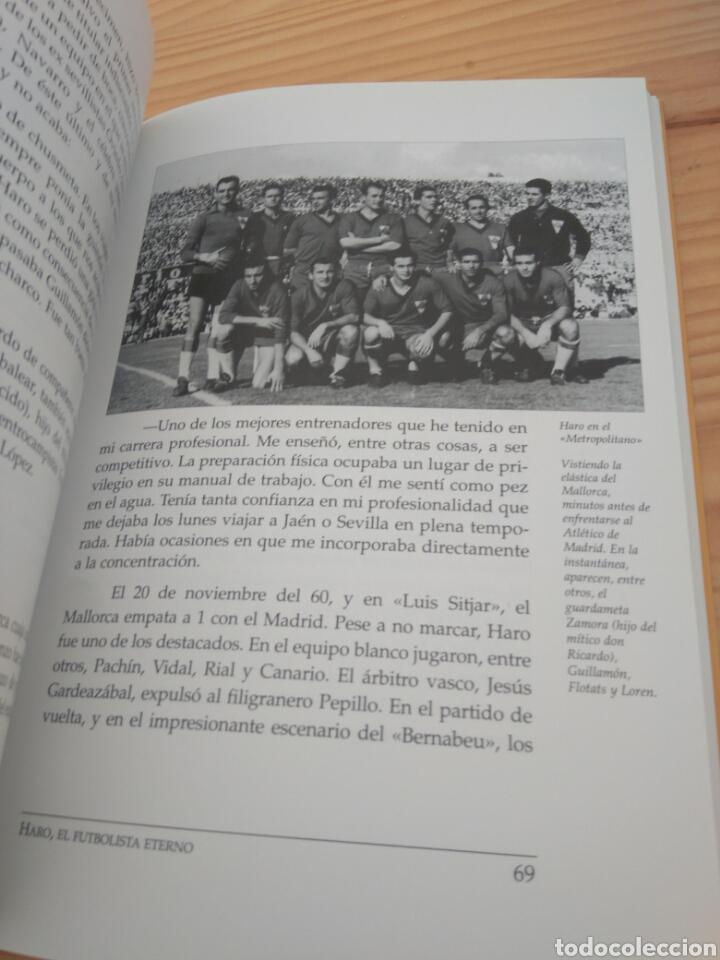 Coleccionismo deportivo: Haro, el futbolista eterno. Fernando Arévalo Ruiviejo. Sevilla FC, Mallorca, Jaén, Granada... - Foto 4 - 110084252