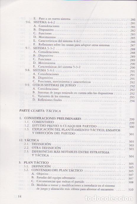 Coleccionismo deportivo: Tratado de fútbol : técnica, acciones del juego, estrategia y táctica / Francisco Lacuesta Salazar . - Foto 10 - 110153191
