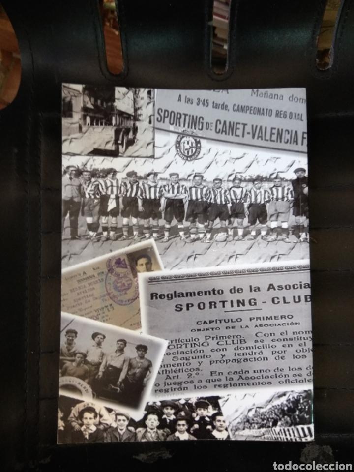Coleccionismo deportivo: SPORTING CLUB C.D. ACERO. LOS LEONES DEL MEDITERRANEO. PUERTO SAGUNTO. SÁNCHEZ CEREZUELA, F. - Foto 2 - 109745071