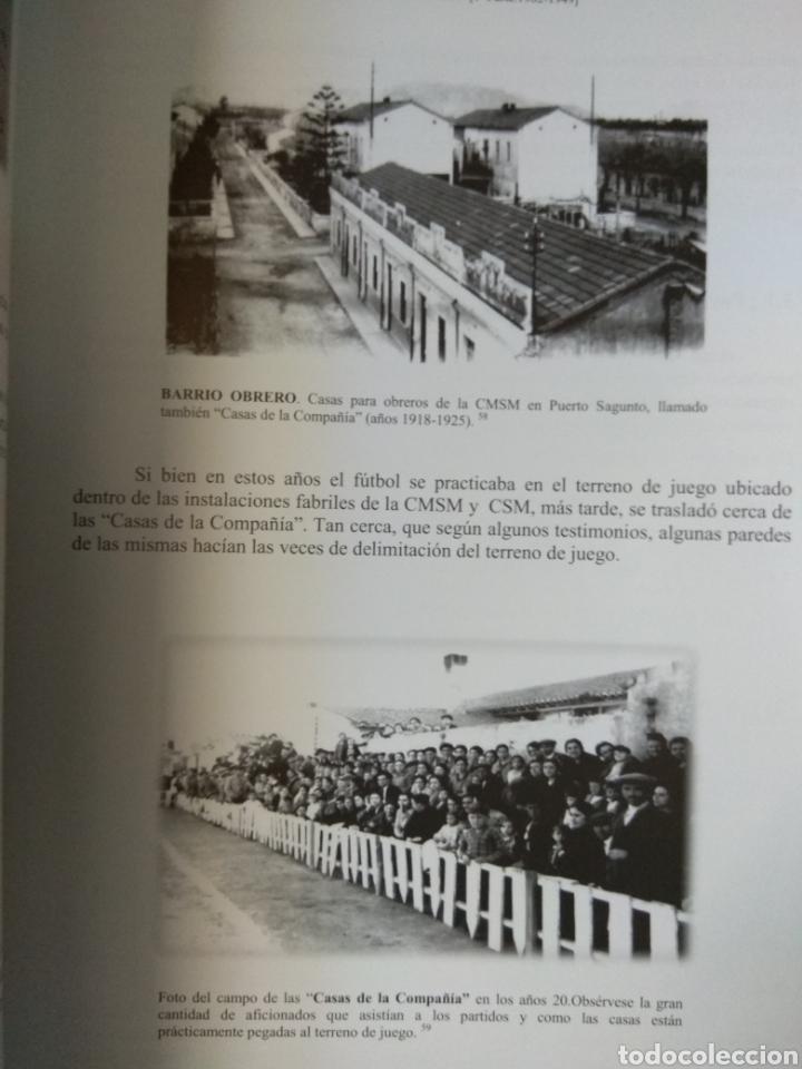 Coleccionismo deportivo: SPORTING CLUB C.D. ACERO. LOS LEONES DEL MEDITERRANEO. PUERTO SAGUNTO. SÁNCHEZ CEREZUELA, F. - Foto 4 - 109745071