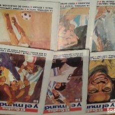 Coleccionismo deportivo: HISTORIA DE LOS MUNDIALES EDITA EL GRAFICO. Lote 110215227