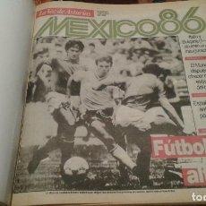 Coleccionismo deportivo: MUNDIAL MÉXICO 86 COLECIONABLE LA VOZ DE ASTURIAS. Lote 110252379