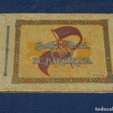 Coleccionismo deportivo: FC BARCELONA - BUTLLETI OFICIAL DEL FC BARCELONA 1926, MUY ILUSTRADO, 93 PAG, 22 X 15 CM. Lote 110875003