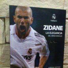 Coleccionismo deportivo: REAL MADRID - LIBRO - ZIDANE - PRODUCTO OFICIAL REAL MADRID - 2011 - ENRIQUE ORTEGO - NUEVO. Lote 111342159