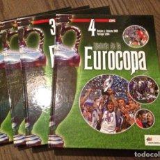 Coleccionismo deportivo: AS. EUROCOPA ENCICLOPEDIA 4 TOMOS. PERFECTO ESTADO.. Lote 111723087