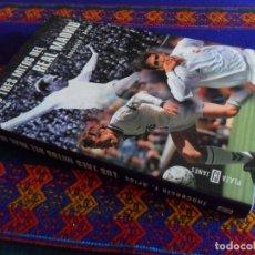Coleccionismo deportivo: LOS TRES MITOS DEL REAL MADRID DE INOCENCIO ARIAS. PLAZA & JANÉS 1ª ED. DI STEFANO RAÚL BUTRAGUEÑO.. Lote 112229259