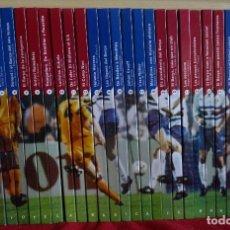 Coleccionismo deportivo: LA CO-LECCIÓ DEL CENTENARI F.C. BARCELONA COMPLETA 30 LIBROS. Lote 112789639