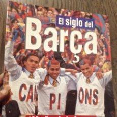 Coleccionismo deportivo: FC BARCELONA LIBRO 100 AÑOS. PERFECTO ESTADO.. Lote 112872259