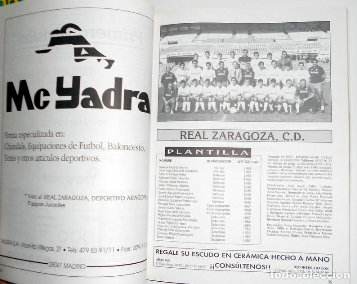 Coleccionismo deportivo: ANUARIO DEL FÚTBOL ARAGONÉS - Temporada 90/91 1990 1991 - FÚTBOL REGIONAL - REAL ZARAGOZA HUESCA SD - Foto 4 - 112879259