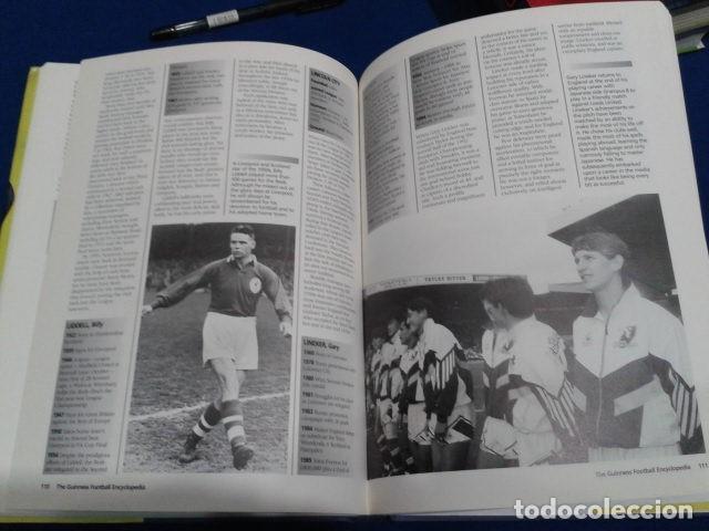 Coleccionismo deportivo: LIBRO THE GUINNESS FOOTBALL ENCYCLOPEDIA EDITED GRAHAM HART 1995 TAPA DURA 222 PAGINAS INGLES - Foto 4 - 113203079