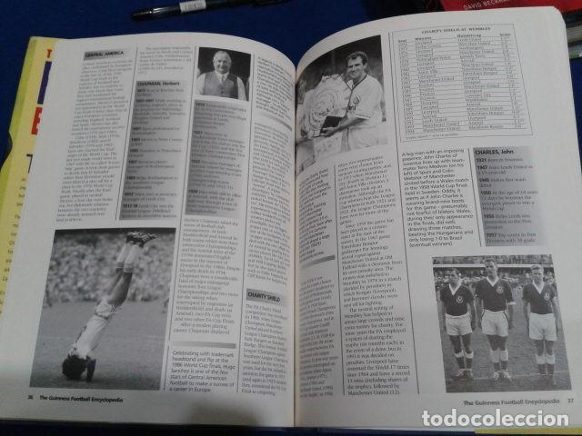 Coleccionismo deportivo: LIBRO THE GUINNESS FOOTBALL ENCYCLOPEDIA EDITED GRAHAM HART 1995 TAPA DURA 222 PAGINAS INGLES - Foto 5 - 113203079