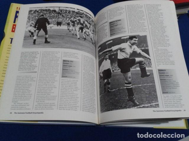 Coleccionismo deportivo: LIBRO THE GUINNESS FOOTBALL ENCYCLOPEDIA EDITED GRAHAM HART 1995 TAPA DURA 222 PAGINAS INGLES - Foto 6 - 113203079