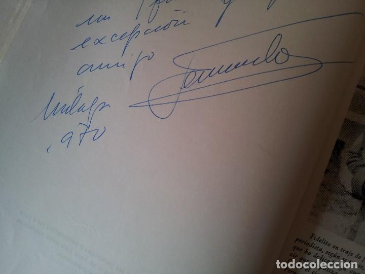 Coleccionismo deportivo: FERNANDO GONZALEZ MART Y FIDELITO-DIEZ HISTORIAS CORTAS DE UN FUTBOL LARGO - MALAGA 1970 - FIRMADO - Foto 2 - 113276483