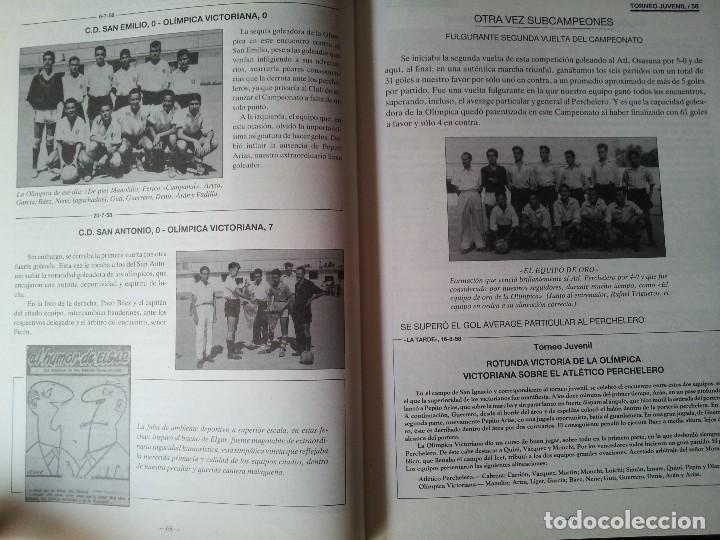 Coleccionismo deportivo: A.RICARDO LUJAN - VIVENCIAS DE LA OLIMPICA Y SU ENTORNO VICTORIANO 2 TOMOS - FIRMADO 1993 - Foto 3 - 113745135